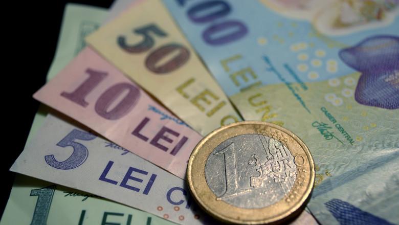 Euro a atins un nou maxim istoric în raport cu leul
