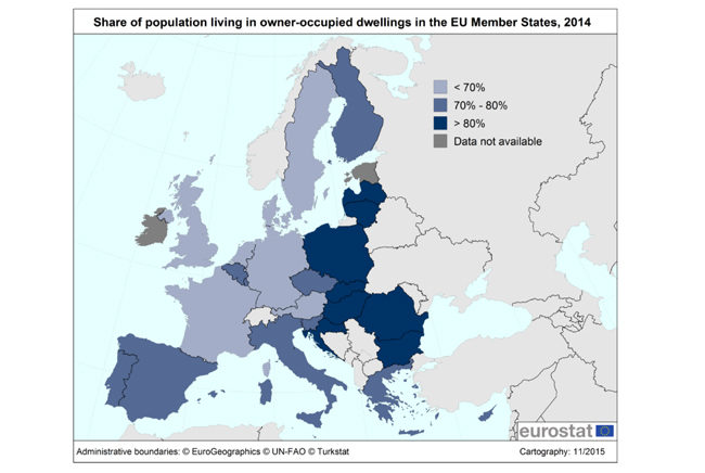 eurostat locuinte