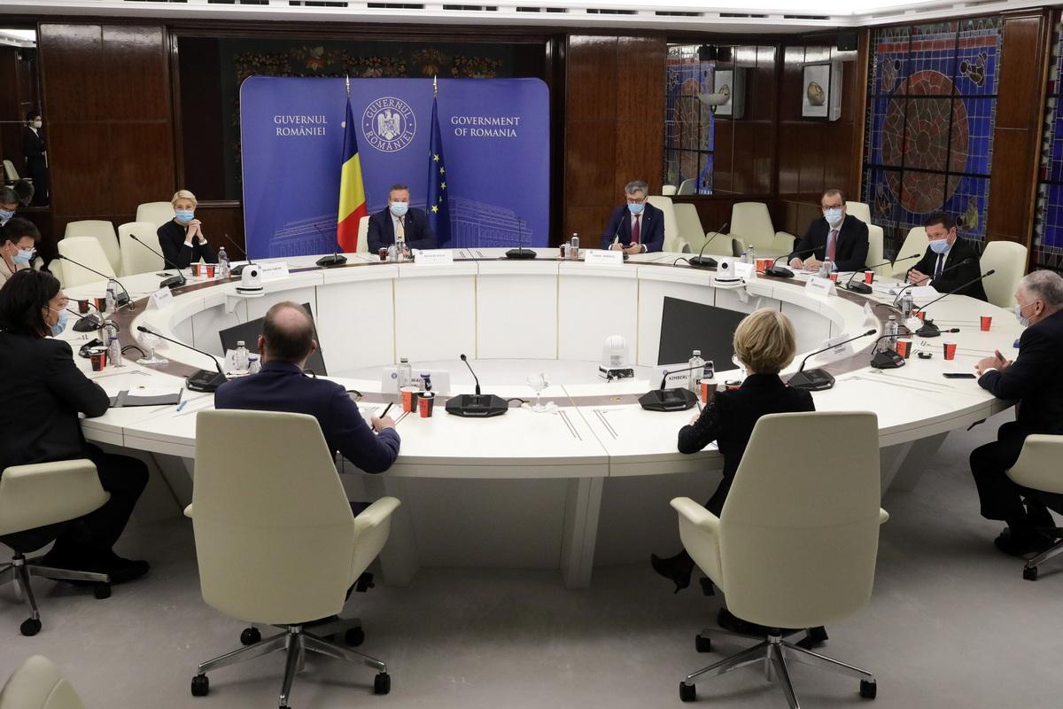 Eximbank USA ar putea finanţa investiţii în energie în România, inclusiv extracţia gazelor din Marea Neagră