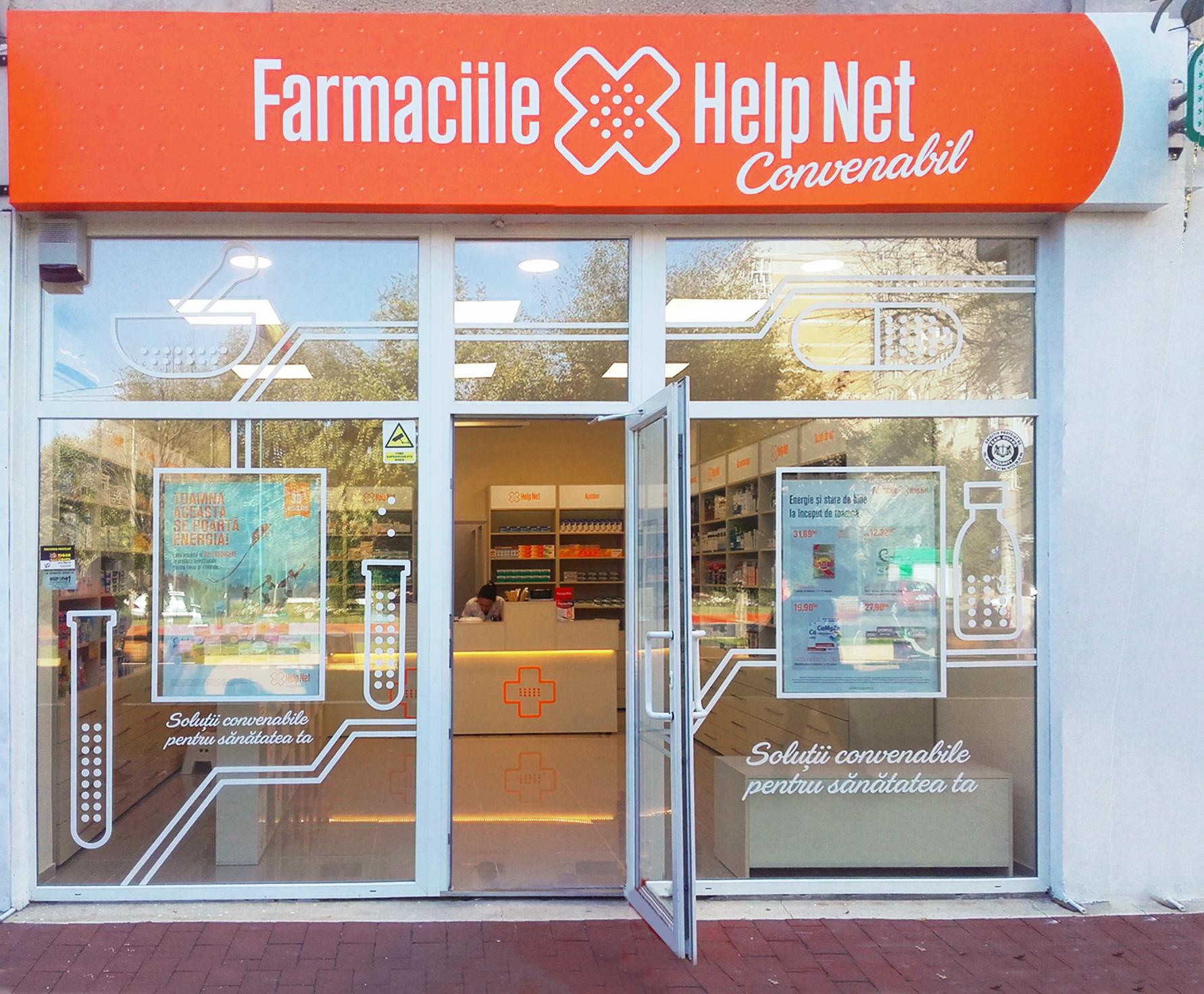 Help Net a finalizat preluarea celor 52 de farmacii de la Farmaceutica Remedia
