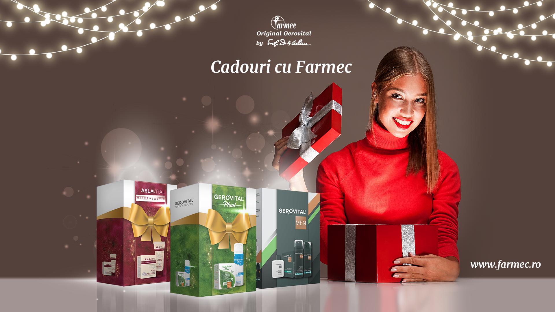 Producătorul de cosmetice Farmec introduce serviciul Call & Collect