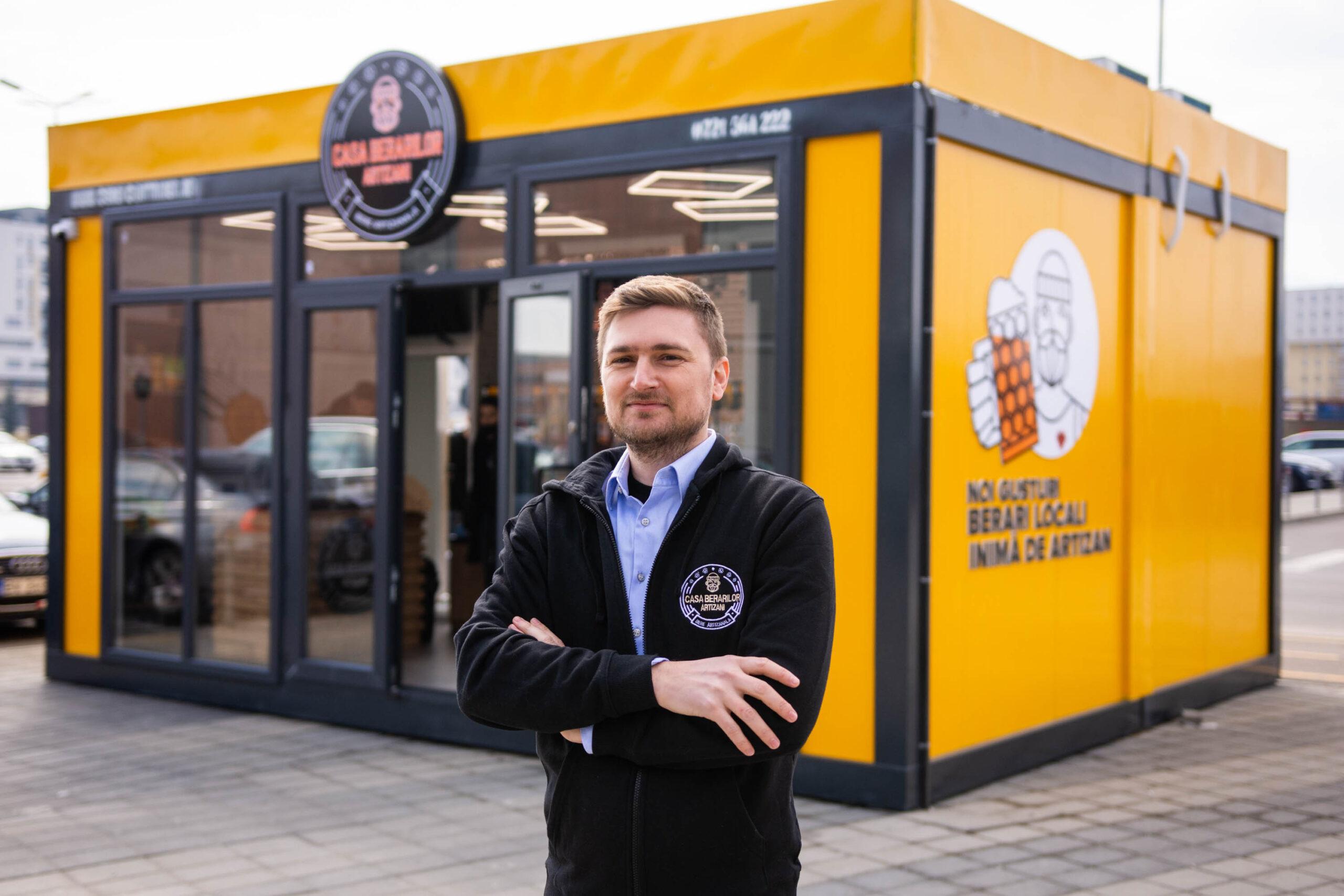 Franciza Casa Berarilor Artizani lansează un nou concept de magazin modular
