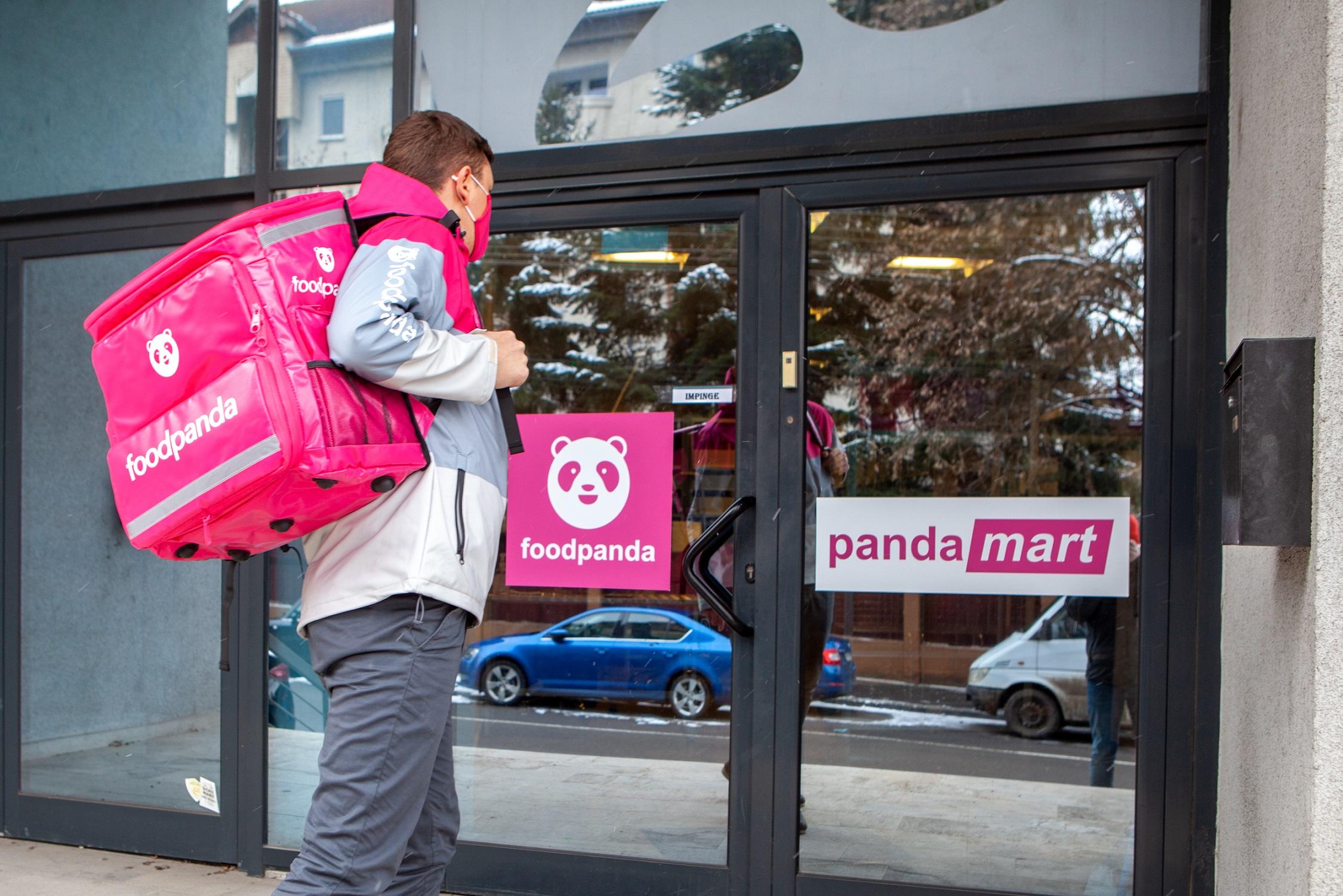 foodpanda România anunță un concept de magazine proprii pentru cumparături rapide, din care livrarea se va face în maximum 30 de minute