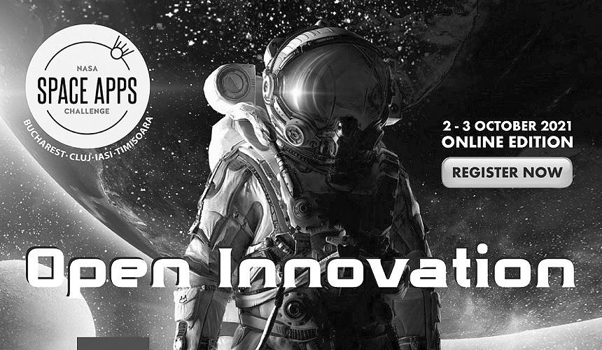 NASA Space Apps Challenge 2021 se va desfășura online în patru orașe din țară