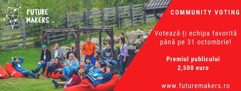 Votează tinerii care fac viitorul în competiția Future Makers