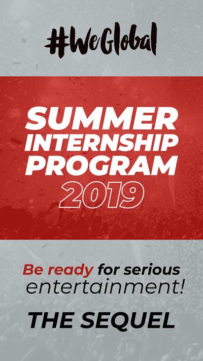 "Global Records lansează un nou program de internship plătit: ""Summer Internship Program"""