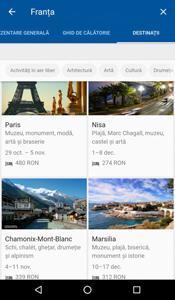 Noile servicii Google Flights și Destinations sunt disponibile în România