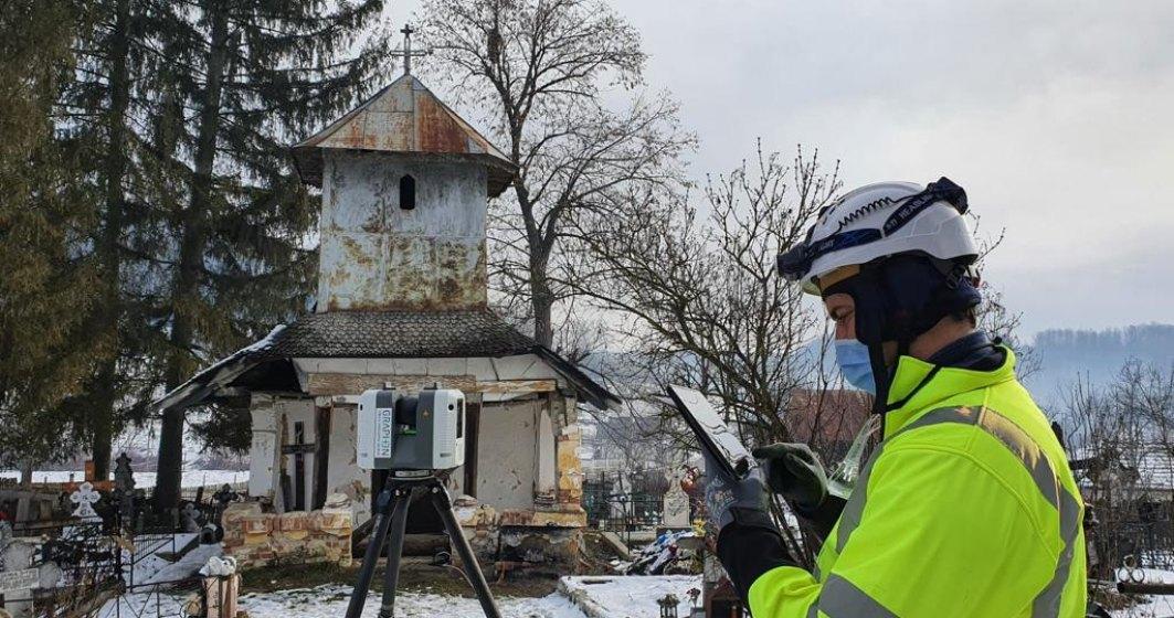 Clădirile istorice din România vor fi scanate 3D și conservate într-o arhivă digitală
