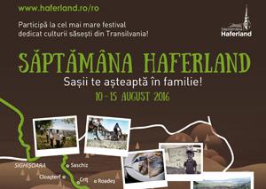 A IV-a ediție a Săptămânii Haferland programează concerte de muzică clasică și gospel, balul tradițional, expoziții