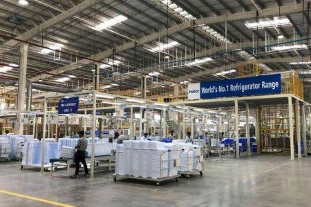 Investiţie de 70 milioane euro în noua fabrică de frigidere Haier la Ploieşti
