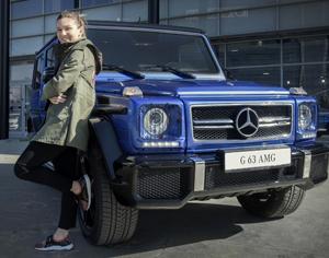 Simona Halep a devenit ambasadorul Mercedes-Benz în România