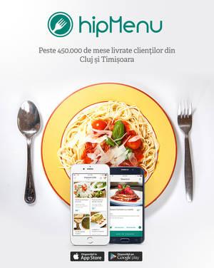 Restaurantele din Oradea au intrat în aplicaţia hipMenu, pentru comenzi online