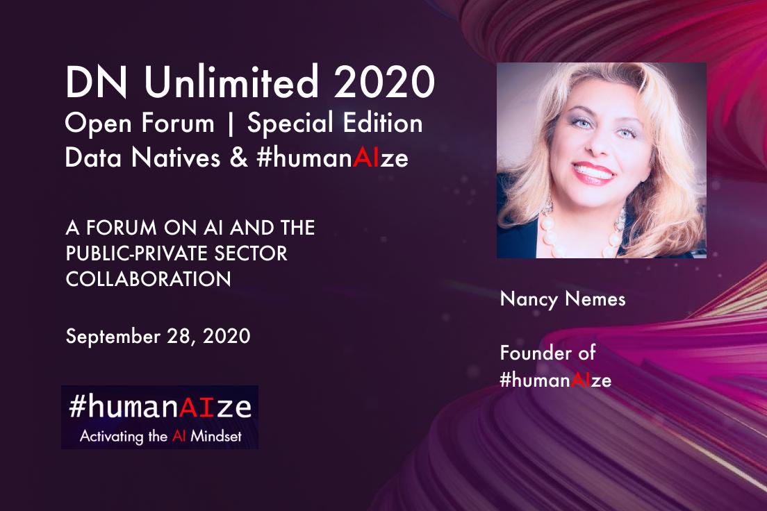 Continuă înscrierile la #humanAIze – forumul internațional digital despre Inteligență Artificială