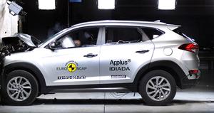 Noul Hyundai Tucson a obtinut 5 stele la Euro NCAP