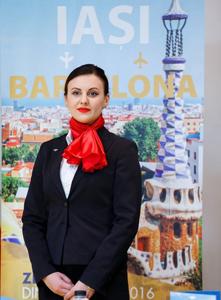 Au fost inaugrate cursele Blue Air între Barcelona și Iaşi