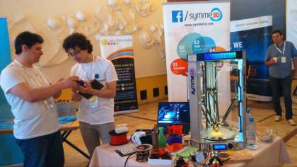 O echipă de tineri ingineri a creat prima imprimantă 3D sută la sută românească
