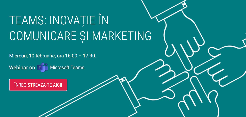 """""""Inovație în comunicare și marketing"""" este tema întâlnirii comunității MarketingManager din luna februarie"""