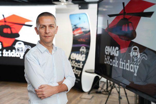 eMAG estimează vânzări de 400 milioane lei de BlackFriday
