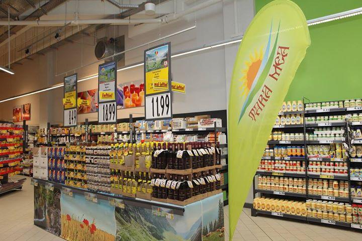 """Kaufland lansează """"Ţara mea"""", o marcă de alimente româneşti"""