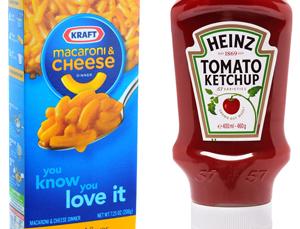 Heinz şi Kraft Foods au fuzionat, creând a cincea mare companie de alimente şi băuturi din lume