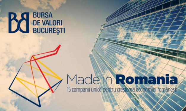 """Programul """"Made in Romania"""" şi-a desemnat cele 50 de companii semifinaliste"""