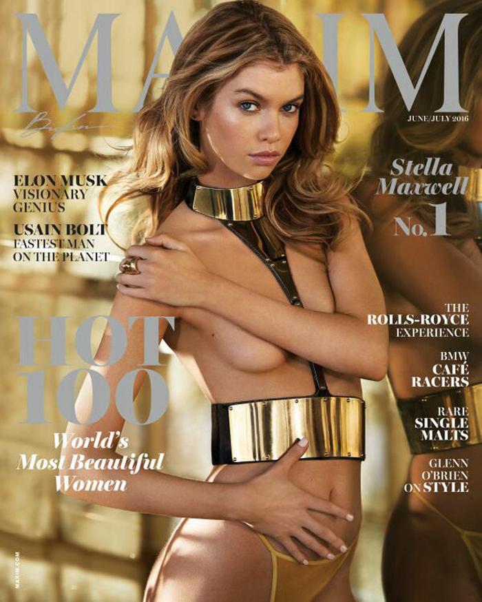 """Cine este Stella Maxwell, aleasă cea mai sexy femeie din lume de revista """"Maxim"""""""