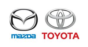 Toyota și Mazda își extind parteneriatul global