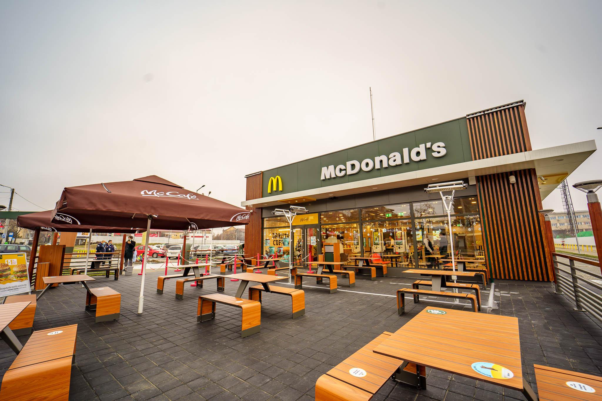 McDonald's a investit 1,8 milioane euro în modernizarea restaurantelor şi introducerea unui sistem de comenzi rapide