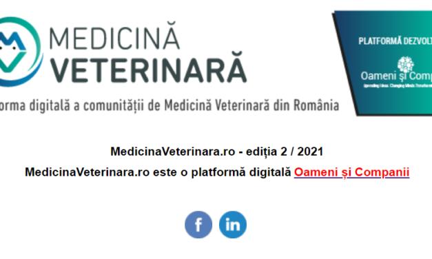 Oameni și Companii a lansat newsletterul comunității OSC – Medicină Veterinară