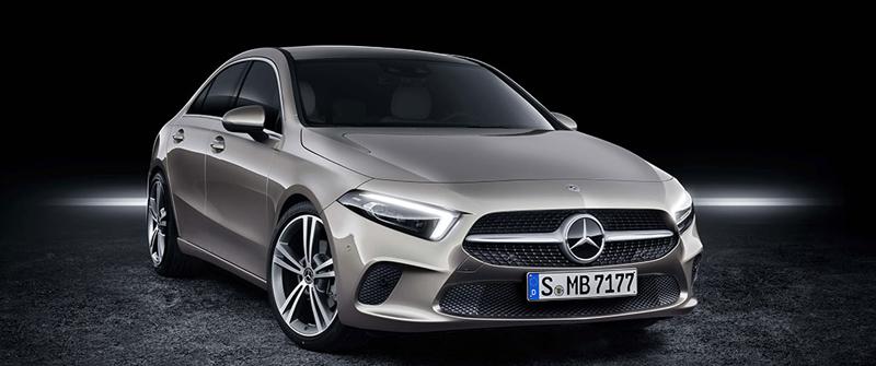 Se apropie lansarea noului sedan Mercedes A-Class