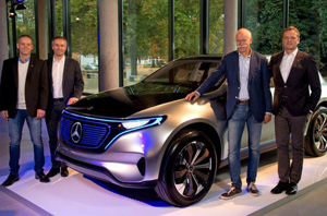 Mercedes-Benz va produce prima maşină electrică, EQ, până în 2020