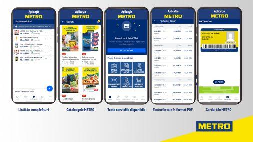 Metro lansează și în România aplicația mobilă