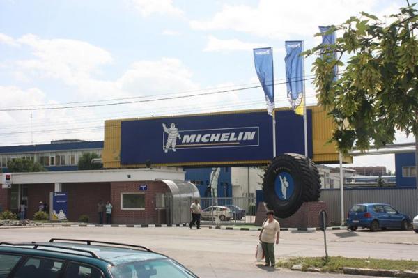 Michelin reia progresiv producţia la fabrica de anvelope din Zalău