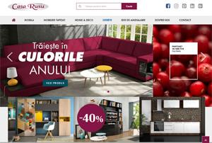 Casa Rusu își relanzează site-ul și introduce noi game de produse