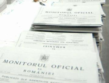 Monitorul Oficial devine gratuit la publicare, copiere, reproducere