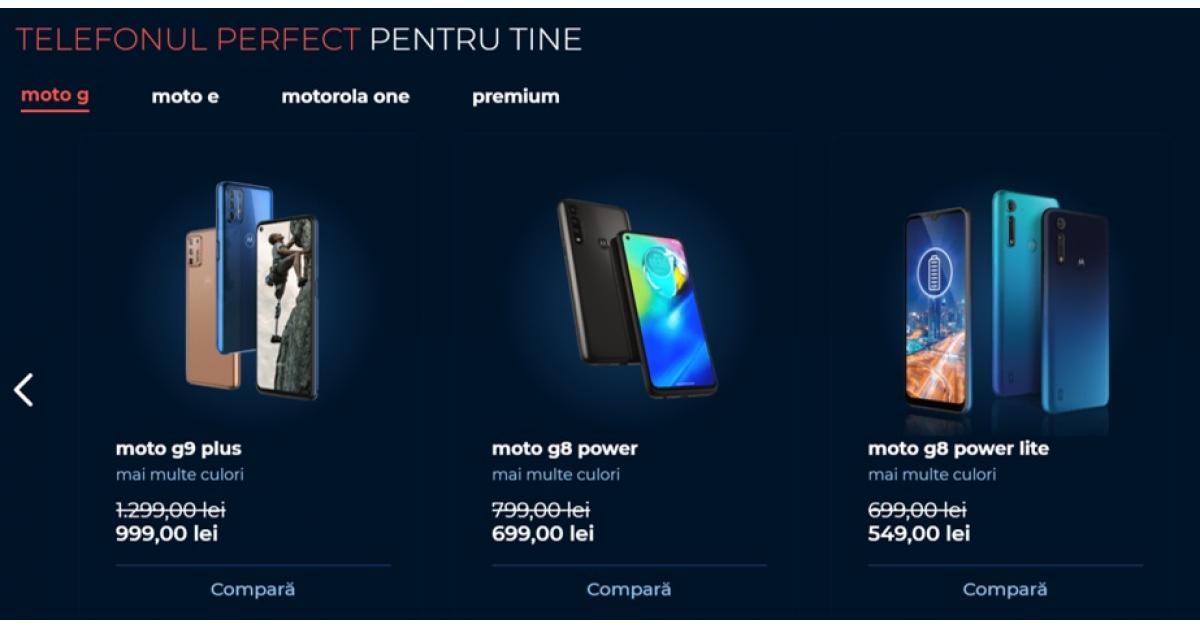Motorola lansează propriul magazin online în România
