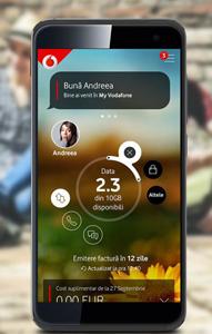 Vodafone oferă o nouă versiune a aplicației My Vodafone