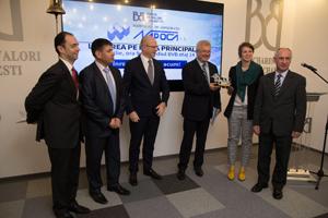 Societatea de Construcții Napoca SA a debutat pe piața principală a Bursei de Valori București