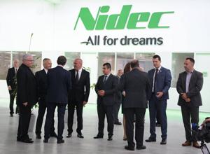 Concernul japonez Nidec a inaugurat cea mai mare fabrică de motoare electrice din România
