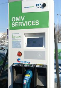 Mașinile electrice sau hibride pot fi încărcate în 30 de minute la prima stație rapidă dedicată, inaugurată în București