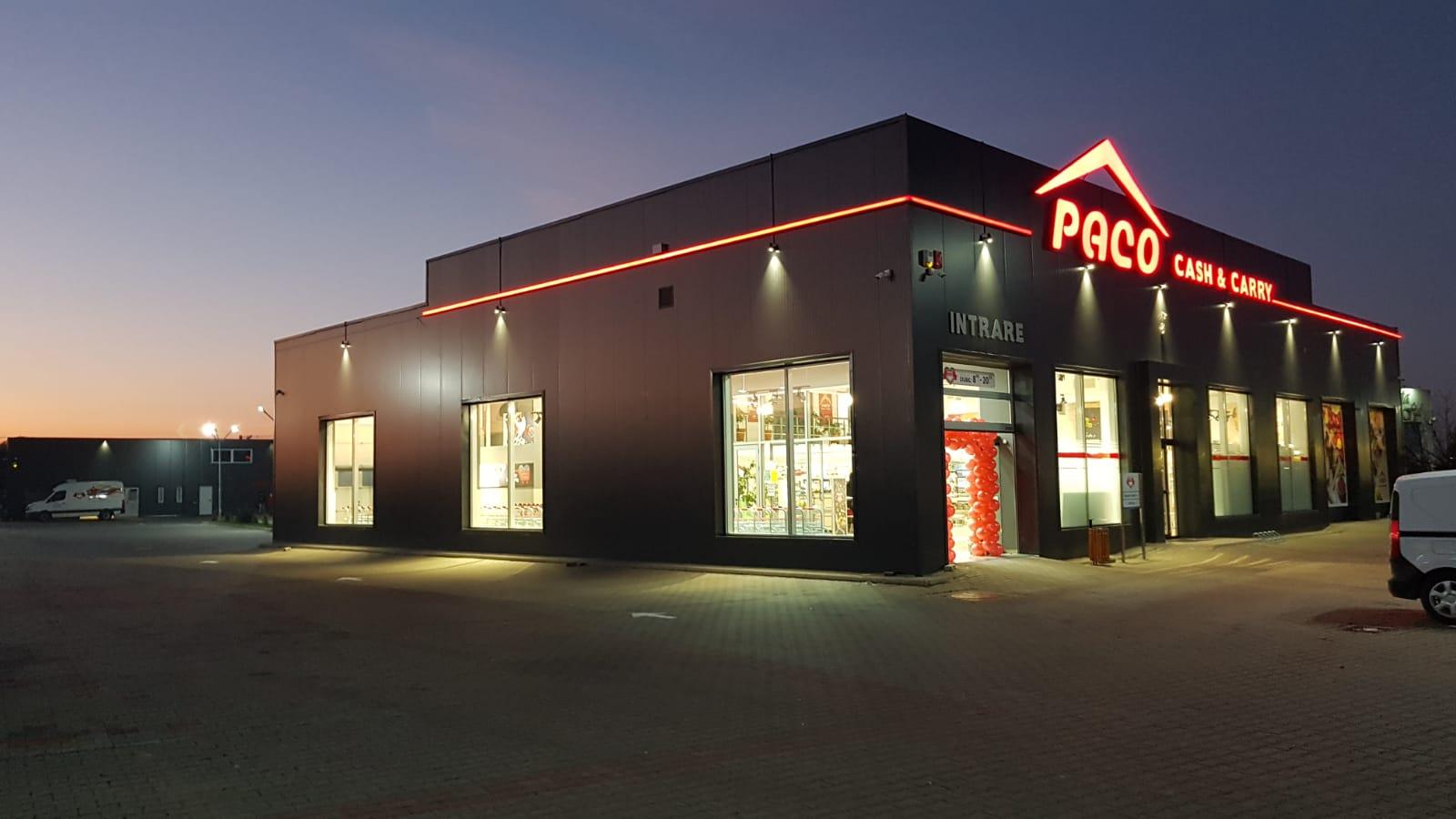 Paco Supermarkets inaugurează primul magazin cash&carry