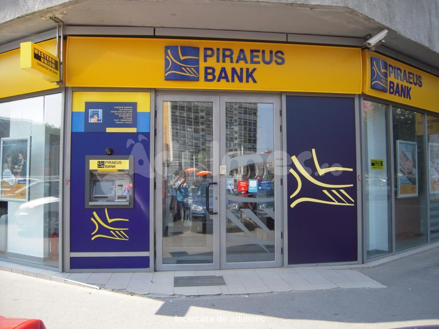 Piraeus Bank România dezminte informațiile privind o posibilă preluare de către Banca Transilvania