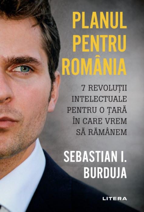 """Secretarul de stat Sebastian Burduja a lansat volumul """"Planul pentru România"""""""