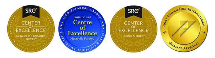 Primul Centru de Excelenta in Chirurgia Herniilor din Romania a fost acreditat in Ponderas Academic Hospital, de catre Surgical Review Corporation (USA)