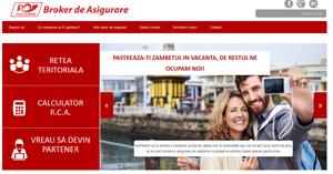 Poşta Română Broker de Asigurare îşi lansează platformă de vânzare online