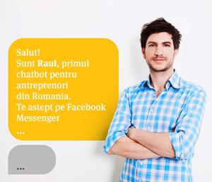 Banca Transilvania lansează robotul Raul, care oferă informații pe Facebook Messenger şi Skype