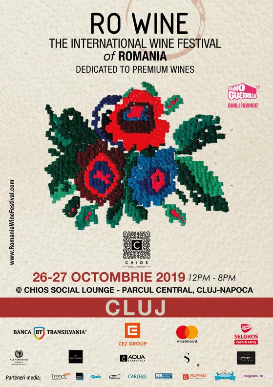 60 de producători vor participa la festivaul RO-Wine de la Cluj-Napoca