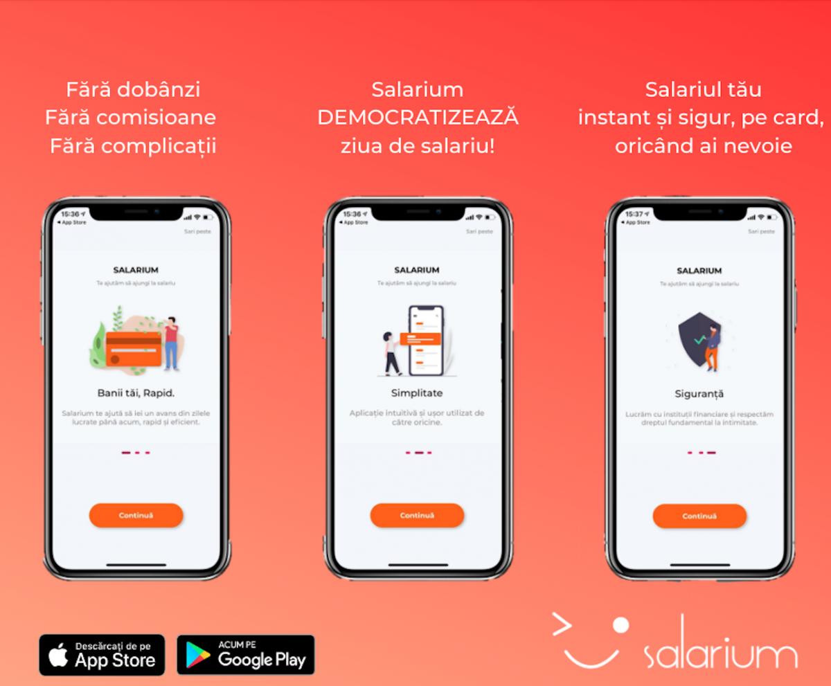 Salarium Fintech, prima platformă de plată a avansului salarial şi de educaţie financiară din România