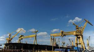 Damen Shipyards va plăti aproape 26 de milioane de dolari pentru șantierul naval Mangalia