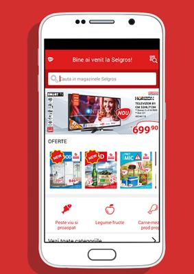 Selgros lansează o aplicație mobilă pentru clienți